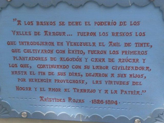 La Ruta de los Vascos - Federación de Centros Vascos de Venezuela