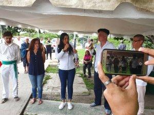 Palabras de Fairuth Ortega, Alcaldesa de San Joaquín